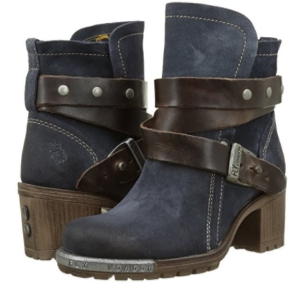 A botas azul