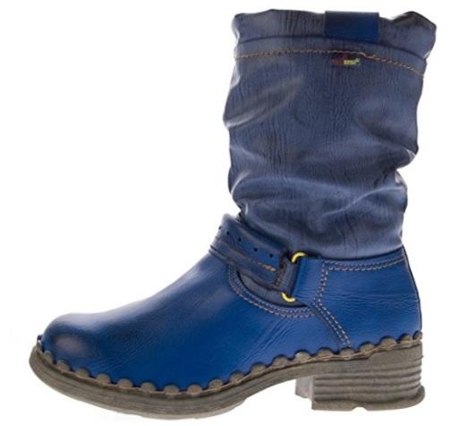 A botas azules