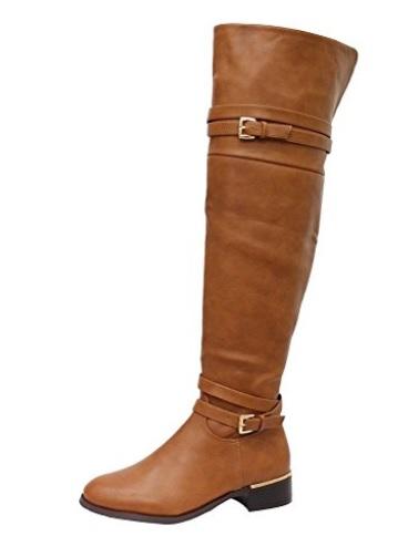 a botas mosqueteras marron