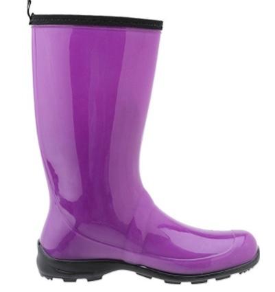Botas de agua lila