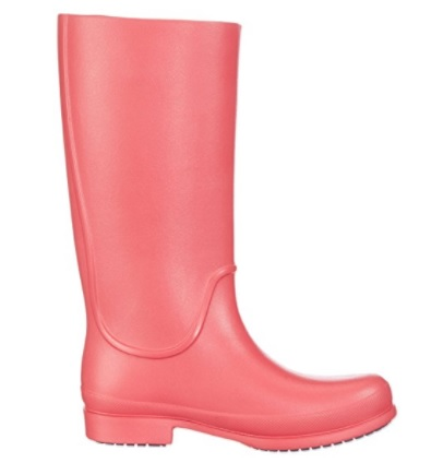 Botas de agua rosas