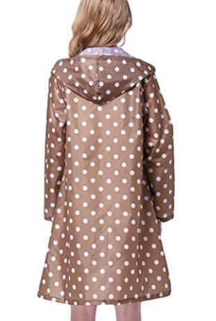 Chubasquero Lluvia Para Chaquetas de mujer Lluvia Poncho con capucha Moderno Lluvia Ropa para mujeres y niñas – Très Chic Mailanda