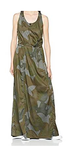 G-STAR RAW Army Radar Maxi Dress