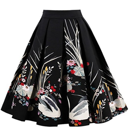 iShine falda larga mujer faldas cortas con 6 colores