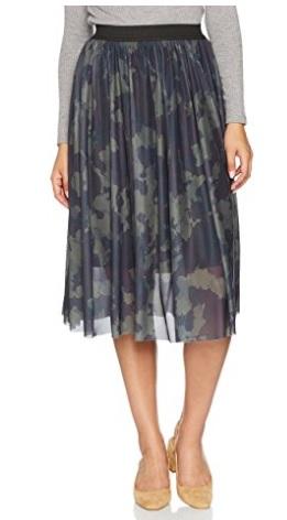 Only Onlerica Calf Mesh Skirt Jrs, Falda para Mujer