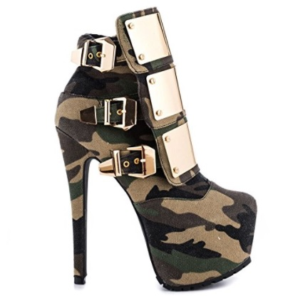 zapato militar