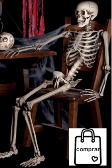 Esqueleto de Halloween 1,60m EUR 39,95