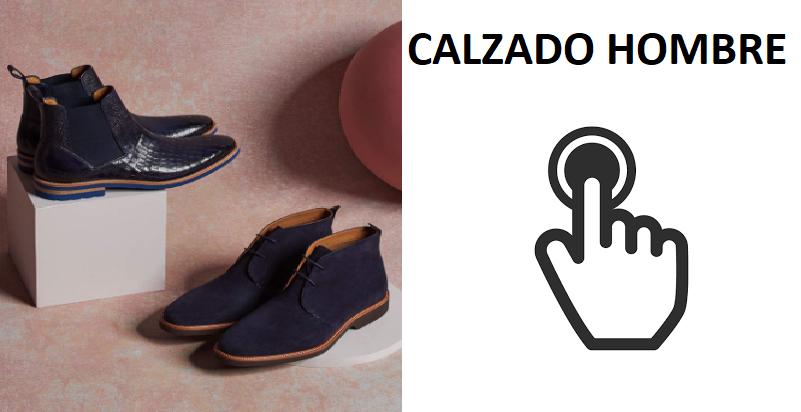 VER TODOS LOS ESTILOS DE CALZADO PARA HOMBRE