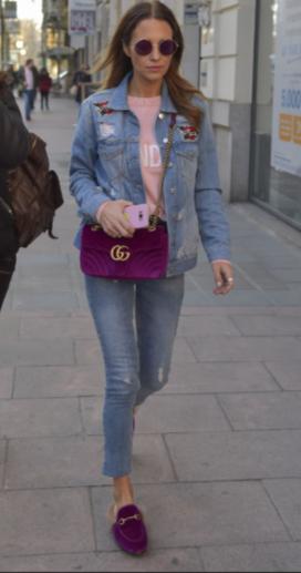 PAULA ECHEVARRIA Zapato con pelo