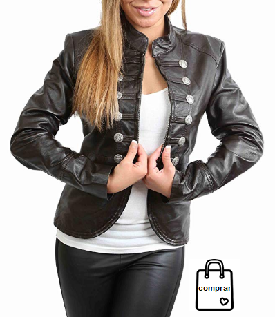 CHAQUETA MILITAR House Of Leather 145€