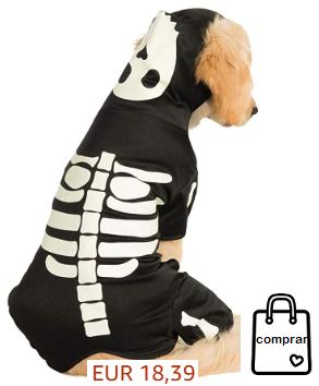 Perro esqueleto