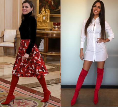 Doña Letizia/ Cristina Pedroche