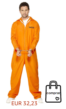 Disfraz preso